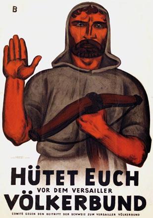 Baumberger Otto - Hütet Euch vor dem Versailler Völkerbund