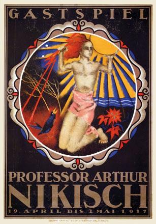 Baumberger Otto - Professor Arthur Nikisch