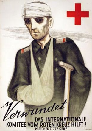 Baumberger Otto - Verwundet -