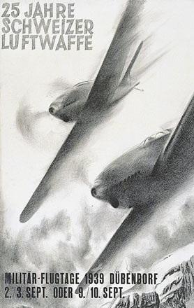 Baumberger Otto - Militärflugtage Dübendorf