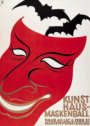 Baumberger Otto - Kunsthaus-Maskenball