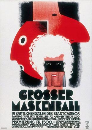 Bühler Fritz - Grosser Maskenball