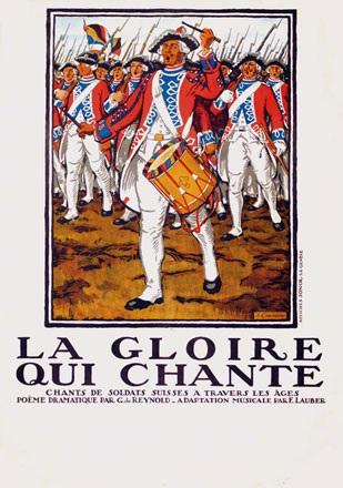 Courvoisier Jules - La glorie qui chante