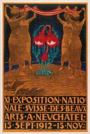 Mangold Burkhard - Exposition Nationale Suisse