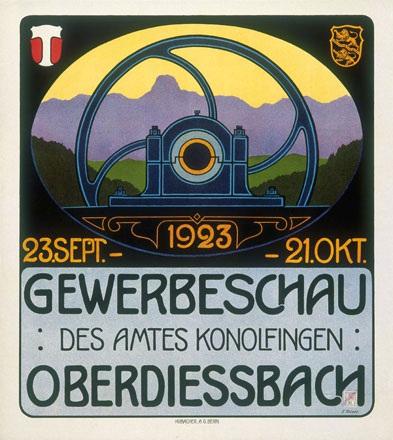 Moser E. - Gewerbeschau des Amtes Konolfingen Oberdiessbach