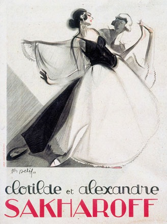 Anonym - Clotilde et Alexandre Sakharoff