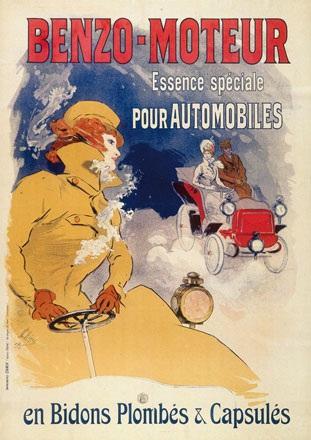 Chéret Jules - Benzo-Moteur
