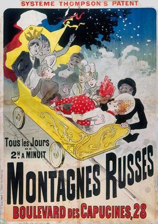 Chéret Jules - Montagnes Russes