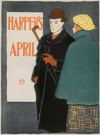 Penfield Edward - Harper's April