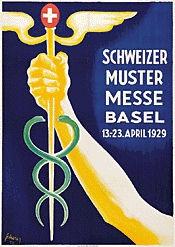 Scherer Carl - Schweizer Mustermesse Basel