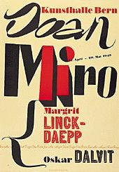 Anonym - Joan Miró / Margrit Linck-Daepp / Oskar Dalvit