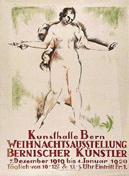 Cardinaux Emil - Weihnachtsausstellung Bernischer Künstler