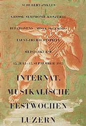 Erni Hans - Internat. Musikalische Festwochen