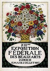 Forestier Henry-Claudius - Exposition fédérale Zurich