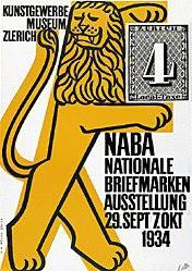 Keller Ernst - NABA - Briefmarken-Ausstellung