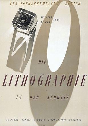 Bischof Werner - Die Lithographie in der Schweiz