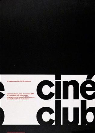 Geiser Roger Virgile - Ciné Club