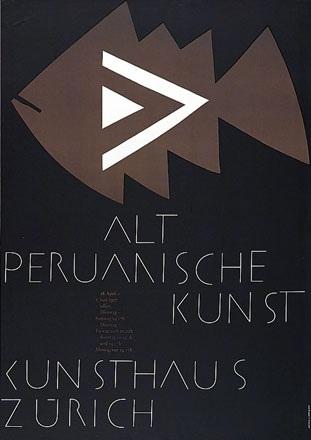 Zryd Werner - Altperuanische Kunst