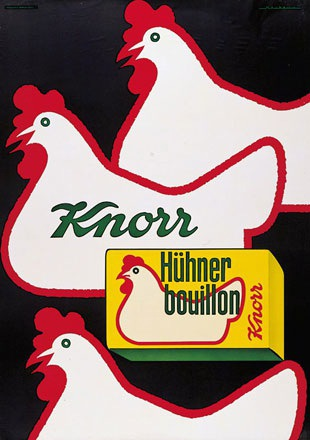 Neukomm Fred - Knorr Hühnerbouillon / Brodo di pollo