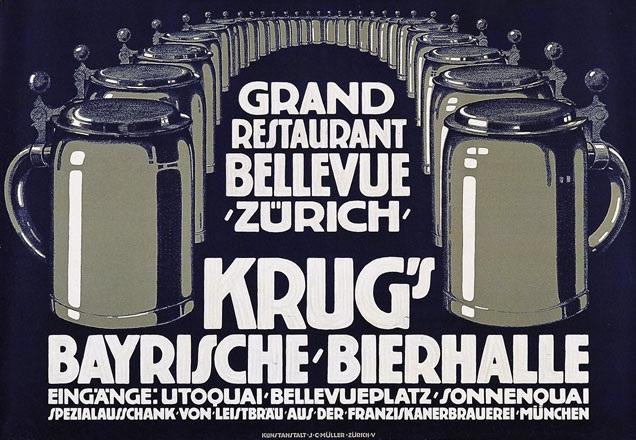 Anonym - Grand Restaurant Bellevue Zürich