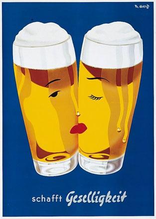 Abeking Th. - Bier schafft Geselligkeit