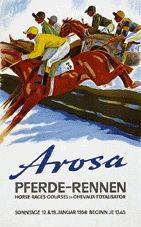 Laubi Hugo - Pferde-Rennen Arosa