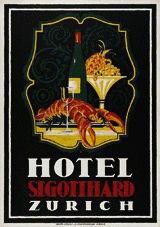 Baumberger Otto - Hotel St. Gotthard Zürich