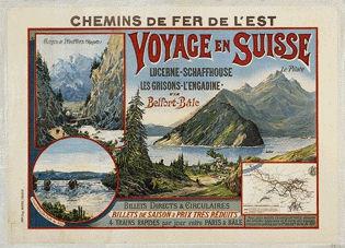 Bourgeois Eugène - Voyage en Suisse