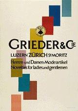 Brunner Propaganda - Grieder & Cie.
