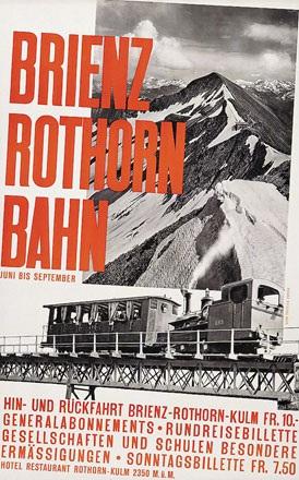 Hilfiker - Brienz Rothorn Bahn