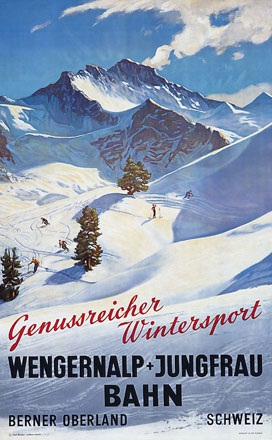 Anonym - Wengernalp + Jungfraubahn