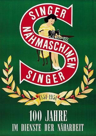 Anonym - Singer Nähmaschinen
