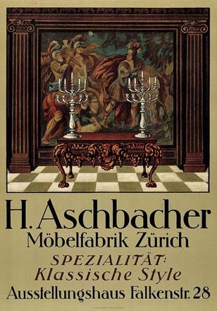 Anonym - H. Aschbacher Möbelfabrik Zürich