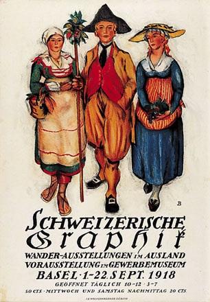 Baumberger Otto - Schweizerische Graphik