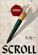 Anonym - Scroll Kugelschreiber