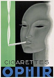 Anonym - Cigarettes Ophir