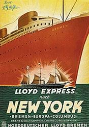 Anonym - Lloyd Express New York