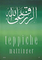 Birkhäuser Peter - Matzinger Teppiche