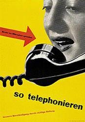 Heiniger Ernst Albrecht - Telephonieren