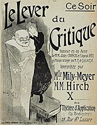Ibels Henri G. - Le Lever du Critique