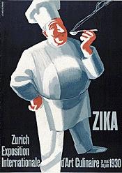 Schupp Eduard - ZIKA - Exposition d'Art Culinaire