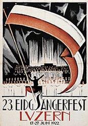 Stauffer Fred - Eidg. Sängerfest Luzern