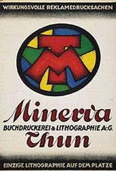 Monogramm E.H. - Minerva Thun