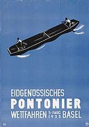 Bühler Fritz - Eidgenössisches Pontonier-Wettfahren