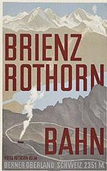 Diggelmann Alex Walter - Brienz Rothorn Bahn