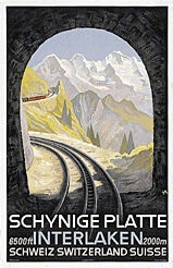 Diggelmann Alex Walter - Schynige Platte