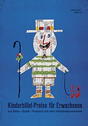 Leupin Herbert - Kinderbillet-Preise für Erwachsene