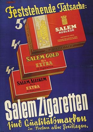 Petzold Willy - Salem Zigaretten