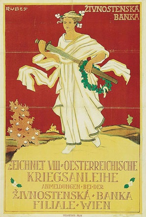 Anonym - Zeichnet Oesterreichische Kriegsanleihe