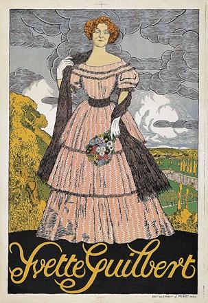Forestier Henry-Claudius - Yvette Guilbert